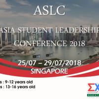 CHƯƠNG TRÌNH TRẠI HÈ ASLC: HỘI NGHỊ LÃNH ĐẠO TRẺ CHÂU Á 2018 (SINGAPORE)