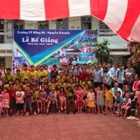 HÌNH ẢNH BUỔI GIAO LƯU VỚI GV VÀ HS TRƯỜNG SINGAPORE 2018